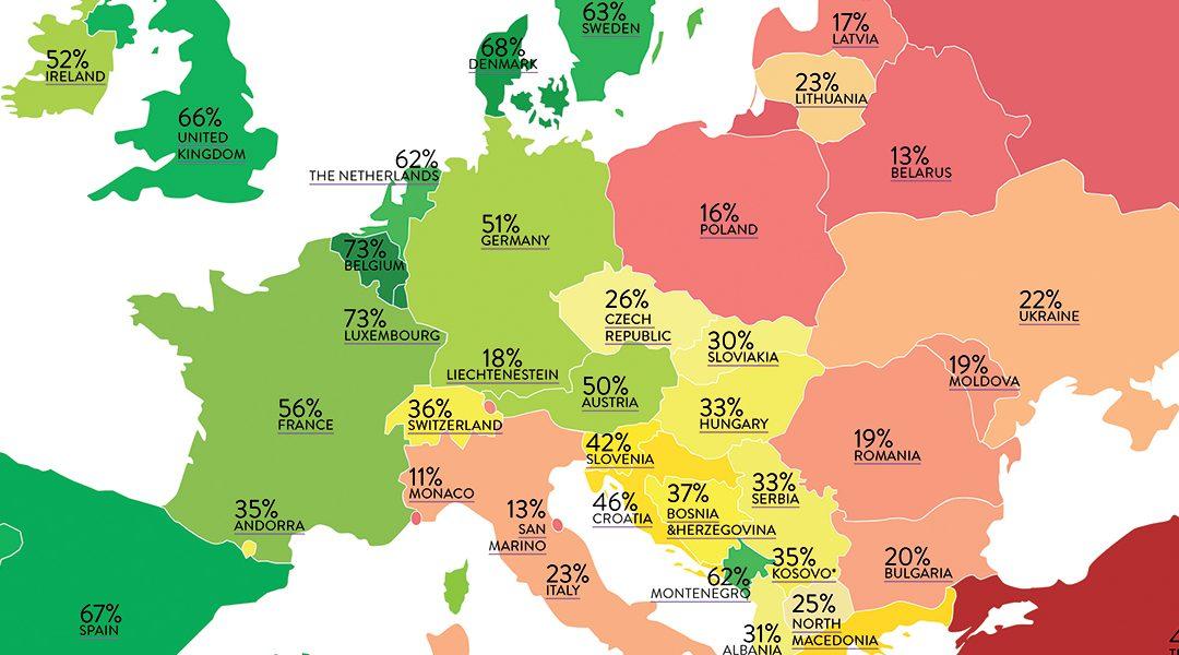 Bi+ in Europa: nog een flinke uitdaging