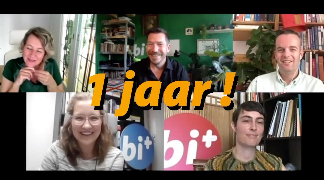 Bi+ Nederland 1 jaar!